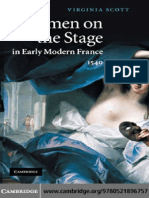 Virginia Scott - Women on the Stage in Early Modern France 1540-1750 [2010][a]