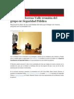 18-08-2015 S Puebla - Encabeza Moreno Valle Reunión Del Grupo de Seguridad Pública