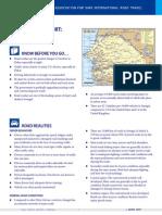 Report Travel Senegal