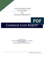 Common Core GOP 2016 Candidate Scorecard