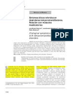 Relation of the Otological Symptoms in the Temporomandibular