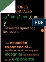 Presentacion Ec. Exponenciales