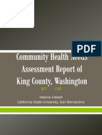 community health needs assessment report of king county wa