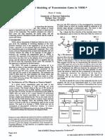 Behavior of Transmission Gates en VHDL