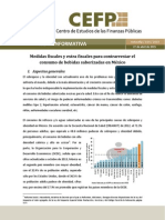 Medidas Fiscales y Extra Fiscales Para Contrarrestar El Consumo de Bebidas Saborizadas en México