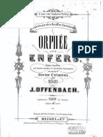 Offenbach Orphée Aux Enfers