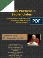 Libros Poéticos o Sapienciales