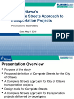 Complete Streets May5 Public Meeting Slides