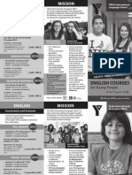 Cours d'anglais pour les jeunes de 9 à 17 ans (2015-2016)