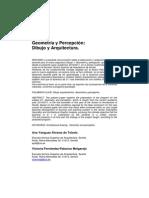 Geometría y Percepcion Dibujo y Arquitectura