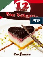 Recetario San Valentin 2013