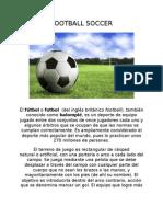 Football Soccer-trabajo Final
