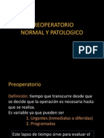 Preoperatorio Normal y Patologico