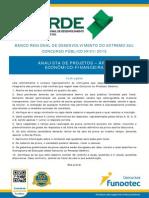 Brde Analista de Projetos 2015