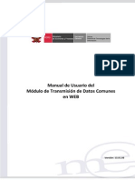 Manual de Transmision Datos Comunes WEB