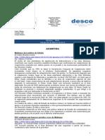 Noticias - News 26-Feb-10 RWI-DESCO