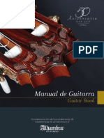 Manual de Guitarras Alhambra 50 Años