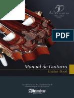 Manual de Guitarras Alhambra 50 Años