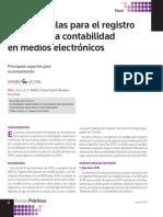 Nuevas Reglas Para El Registro y Envío de La Contabilidad en Medios Electronicos