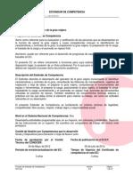 EC0201- Operación de La Grúa Viajera