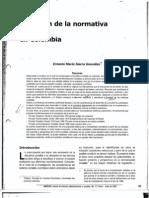 Evolucion de la normativa contable en Colombia