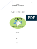 Plano de Negocios Empresa My Pets Farmacia e Veterinaria Especializada