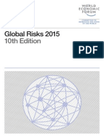 World Economic Forum - Global Risk 2015, 10th edition