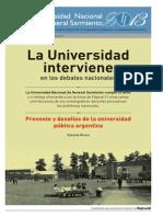 Eduardo Rinesi- Presente y Desafíos de La Universidad Pública Argentina