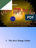 Solar Energy Part i