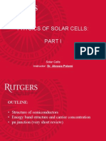 solar cell physics