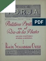 Cuadernos de FORJA nº 1