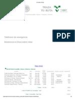 Consulta de Ruta PEscondido-PVeracruz
