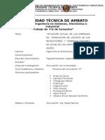 Informe Situacion Inicial Proyecto Marmita