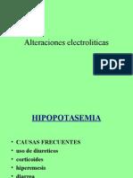 Alteracioneselectroliticas