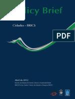 Cidades-BRICS - Policy Brief