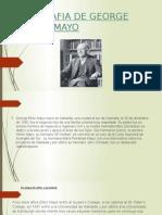 Biografia de George Elton Mayo