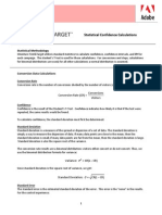 Test&Target Reporting Calculations