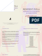 Resident Evil 6 Advanced Controls Guide Ps3