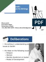 Gandhi and his writings