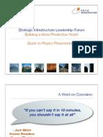 RSILF Project Presenters Guide