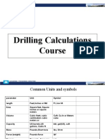 Drilling Calculations Presentation