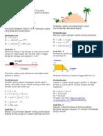 Kumpulan Soal Dan Pembahasan Fisika
