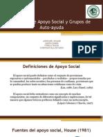 Modelos de Apoyo Social y Autoayuda