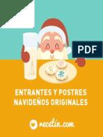 Entrantes y Postres de Navidad