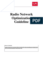 Radio Network Optimization Guideline