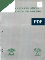 Usos del Aceite de Palma