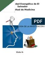 Programa de Metodología de La Investigación I II-2015 Dra. de Reyes