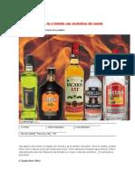 Bebidas Mas Alcoholicas Del Mundo