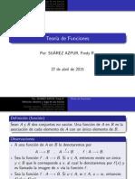 Teoria de Funciones