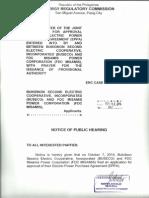A. Erc Case No. 2014-152 Rc